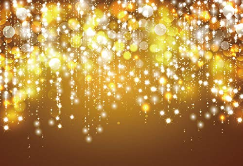 Fantasía Brillo Estrella Lunares luz Bokeh Boda cumpleaños Amor Fiesta bebé niño Foto Fondo fotografía telón de Fondo A14 10x7ft / 3x2.2m