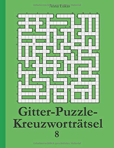 Gitter-Puzzle-Kreuzworträtsel 8