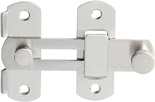 4 inch Stainless Steel Bar Latch Safety Door Lock Gate Latches Pet Door Latch Bolt Lock Heavy Duty Flip Latch