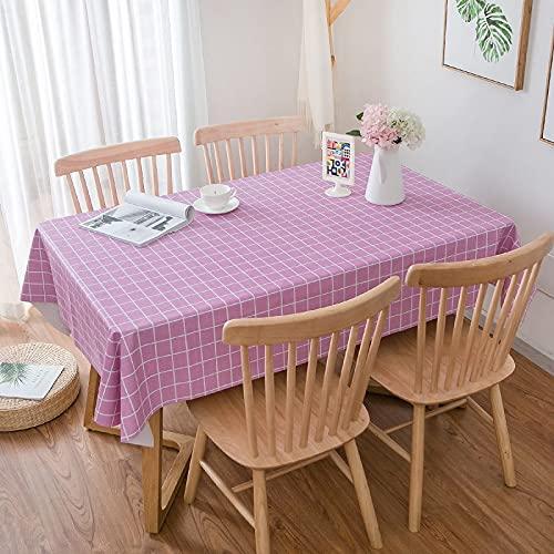 YDyun Cubierta de Mesa de Simples Adecuado para la decoración de cocinas caseras, Varios tamaños Mantel Pastoral de celosía