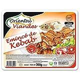 Oriental Viandes Kebab et Sauce Blanche Halal, 300g (Surgelé)