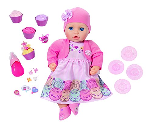 Baby Annabell 700600 Special Day-pop, interactief, 43 cm.