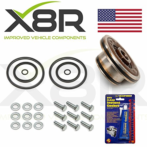 X8R PTFE RINGS AND VITON SEALS SET KIT TO REBUILD DOUBLE TWIN DUAL VANOS COMPATIBLE WITH BMW MODELS EQUIPPED WITH M52 M54 M56 ENGINES PART# X8R28