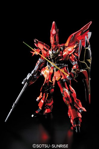 Bandai Hobby MSN-06S Sinanju Ver. KA Titanium Finish Bandai MG Action Figure