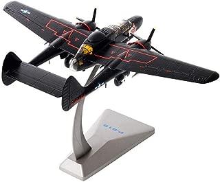 Gn shop Maqueta Avión, P-61B Negro Viuda De Combate Americano 1/72 Aviones Militares Modelo Colección Decoración