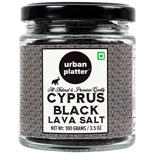 Urban Platter Cyprus Black Lava Sea Salt Flakes, 100g