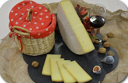 RACLETTE-KÄSE GESCHNITTEN MILVAL schweizer Käsespezialität aus dem Jura 4 Monate gereift ca.300g