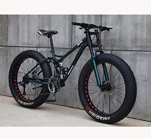 Bicicleta de carretera de la ciudad de cercanías, Bicicleta de montaña for los adolescentes de adultos hombres y mujeres, marco de acero al carbono de alta, Soft Tail doble suspensión, frenos de disco