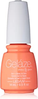 China Glaze Gelaze 100% Gel-n-Base Polish, Flip Flop Fantasy, 0.5 Ounce