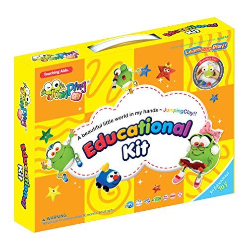 KIT EDUCATIVO - Arcilla JumpingClay, Libro y Accesorios