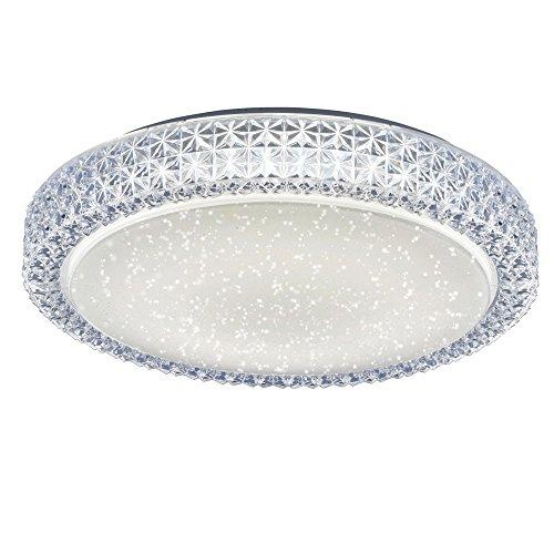 Plafoniera LED 22 Watt rotondo cristallo cielo illuminazione Leuchten Direkt 14371-00