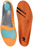 New Balance Insoles 3810 Ultra Support Insole Shoe, Orange, 7.5-8 W US Women / 6-6.5 M US Men