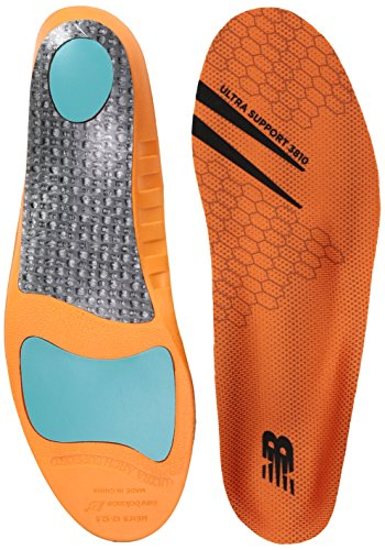 New Balance Insoles 3810 Ultra Support Insole Shoe, Orange, 10.5-11 W US Women / 9-9.5 M US Men