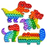 4 pezzi Grande Push Bubble Giocattolo, bubble sensory Fidget Toys per Bambini e Adulti Gioco...