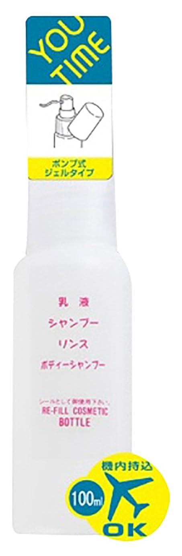 膨張するビタミン松の木ユータイム(YOU TIME) ジェルポンプ 乳白色 100ml