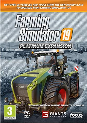 Game pc Digital Bros Farming Simulator 19 Platinum - Expansion