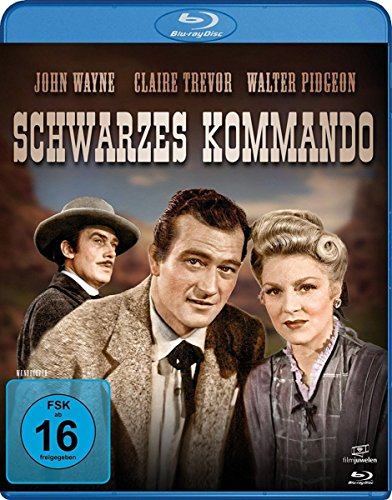 Schwarzes Kommando - John Wayne [Blu-ray]