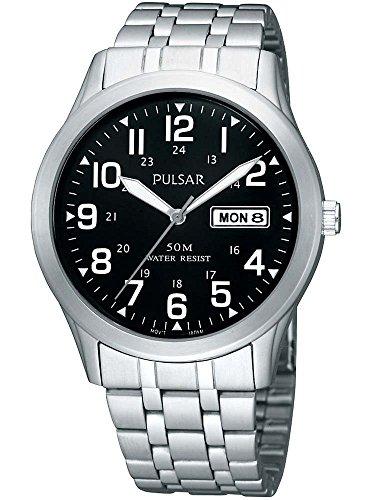 Pulsar PXN181X1 Men's Analogue Stainless Steel Bracelet Watch