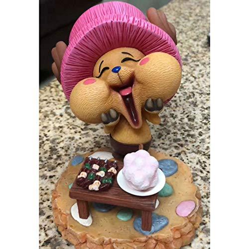 KPSHY Ein Stück Anime Happy Chopper Figur Puppen Dekoration Premium Version Puppe Statue Geburtstagsgeschenk Puppe Skulptur Spielzeug Puppe 10cm