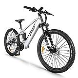 Bici Elettrica Mountain Bike Elettrica per 27,5 Pollici, Motore Centrale BAFANG 48V 750W con...