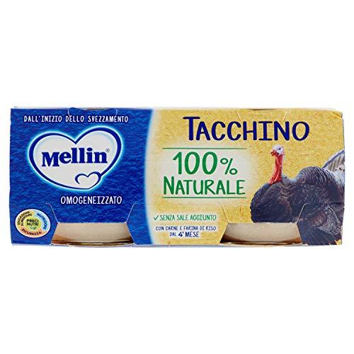 Mellin Omogeneizzato di Tacchino 100% Naturale – 24...