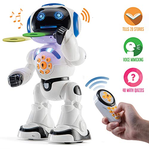 Our #6 Pick is the Top Race Remote Control Robot Toy for Kids