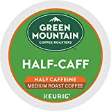 Green Mountain Coffee Roasters Half Caff, Single-Serve Keurig K-Cup Pods, Medium Roast Coffee, 72 Count