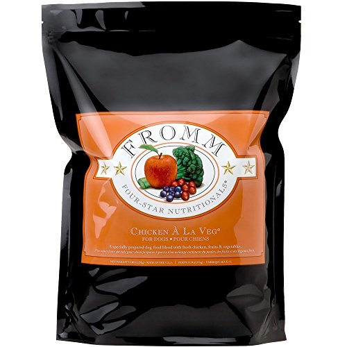 Fromm 4-Star Chicken A La Veg Dry Dog Food 5lb by