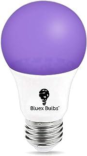 UV LED Black Light Bulb, Blacklight UV Lightbulb Replacement LED Ultra Violet LED Fishing Aquarium LED Light Bulb by Bluex Bulbs (1 Pack)