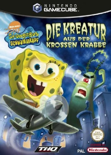 SpongeBob Schwammkopf - Kreatur aus der krossen Krabbe