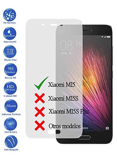 Todotumovil Protector de Pantalla Xiaomi MI5 de Cristal Templado Vidrio 9H para movil