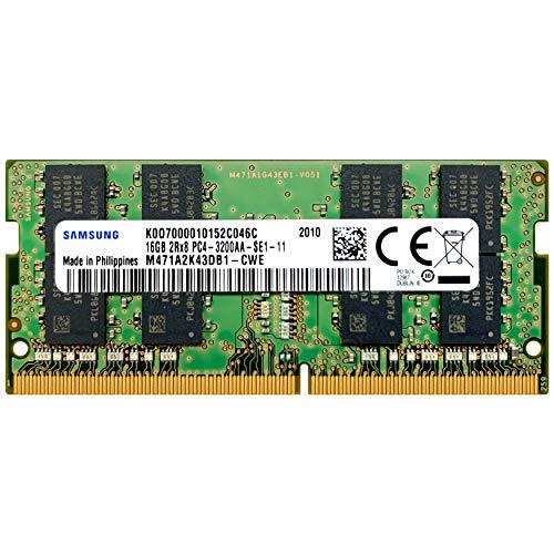 Samsung 16GB DDR4 3200MHz SODIMM PC4-25600 CL22 2Rx8 1.2V 260-Pin SO-DIMM Laptop Notebook RAM Memory Module M471A2K43DB1-CWE