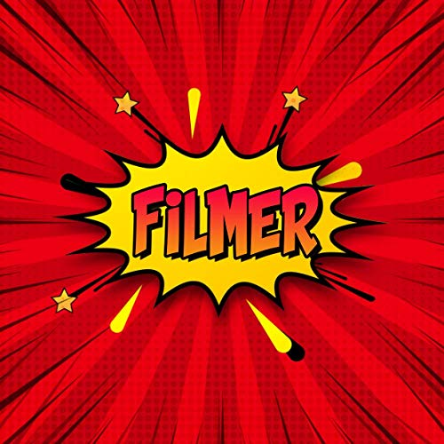 Filmer: Draw Your Own Comic Super Hero Adventures with this Personalized Vintage Theme Birthday Gift Pop Art Blank Comic Storyboard Book for Filmer   150 pages with variety of templates