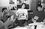 Blur - Reviewing the singles at the NME office London 1991