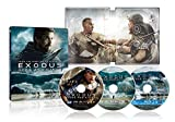 【Amazon.co.jp限定】エクソダス:神と王 3D & 2D ブルーレイセット+BD特典ディスク スチールブック仕様(3枚組)(2,000セット数量限定生産) [Blu-ray]