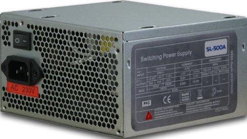 Inter-Tech SL500 500 Watt Netzteil 120mm Lüfter
