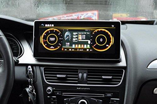 IPS 2 GB de RAM 10,25' Android 6.01 Monitor de Coche para Audi A4L A5 Q5 2009 2010 2011 2012 2013 2014 2015 2016 estéreo Radio Vedio Audio GPS NaviMedia Headunit