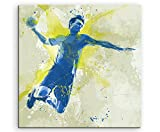 Paul Sinus Art Handball II 60x60cm SPORTBILDER Splash Art