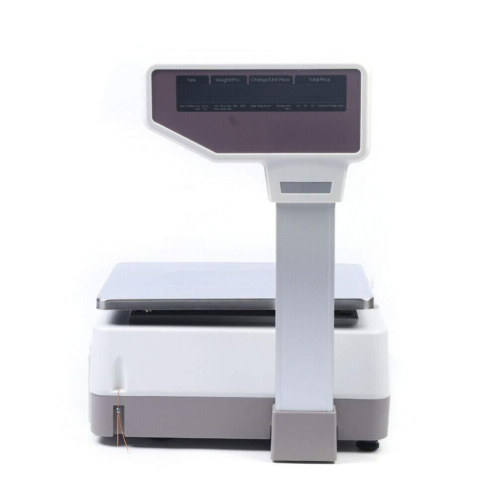 Digital Weight Price Scale Max 30kg Range Computing Soldering Meat online shop Food