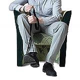 GHzzY Ayuda de Movilidad para Levantador de piernas - Correa rígida para Levantar piernas para Ancianos y discapacitados - Ayuda de Movilidad de Banda Larga para Coche,Cama,sofá y Silla de Ruedas