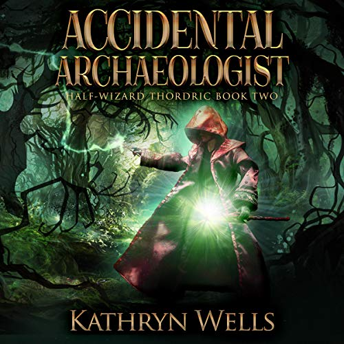 Accidental Archaeologist audiobook cover art