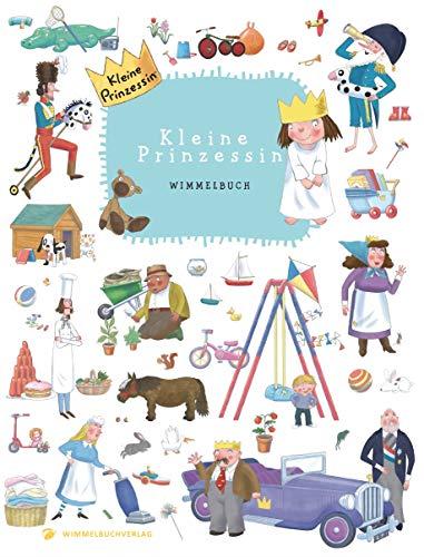 Kleine Prinzessin Wimmelbuch: Kinderbücher ab 2 Jahr: Kinderbücher ab 1 Jahr (Bilderbuch ab 1-3 Mädchen und Jungen)
