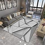 Abstracto patrón geométrico Sala de Estar Alfombra Moderna Minimalista Mesa de café sofá sofá Dormitorio Dormitorio Alfombra Comercial Local Pasillo alfombra-40x60cm