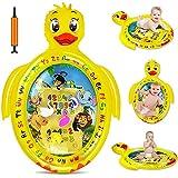 Nice2you Wassermatte Baby, Baby Spielzeug ab 3 6 9 Monaten, das Perfekte Bauchspielzeug für Frühförderungszentren für Säuglinge | BPA-freie Wasserspielmatte Baby