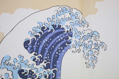 『narumikk のれん 白波 14-214』の4枚目の画像