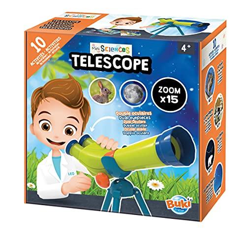 Buki France- Piccolo Scienziato-Telescopio, 9004