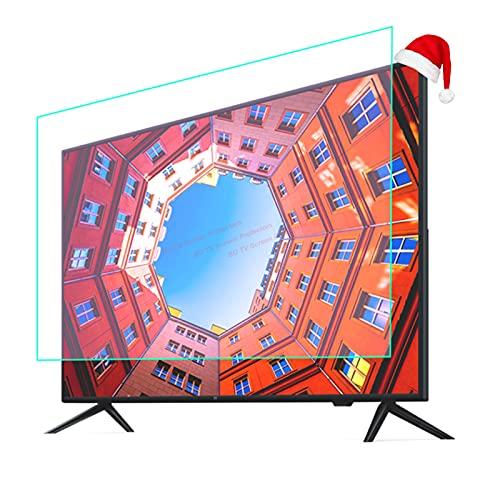50-75 Pulgadas TV Película Anti Deslumbramiento Interiores Y Al Aire Libre OLED LED LCD TV Protector De Pantalla Matte Película para TCL/Samsung/Toshiba/Sony/LG/HISENSE,55' 1211 * 682