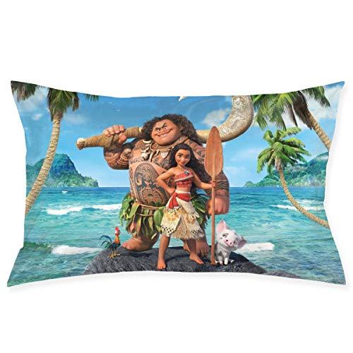 Uizhaic Disney Moana Pillow Case 20Inch X 30Inch(50CM X 75CM), Room Sofa Car Pillow Case Cushion Cover Square Pillows