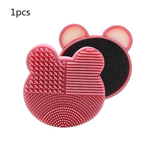 Pink Oso Limpiador de Pinceles de...
