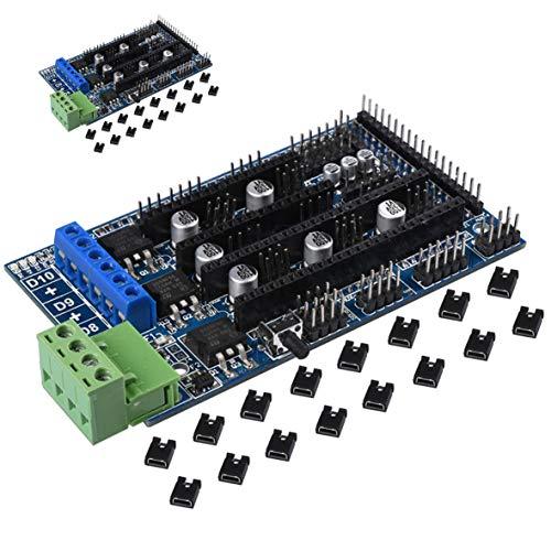 2PACK Rampen 1,5Upgrade Sockel auf RAMPS 1.43D Systemsteuerung Mainboard, RepRap Mendel für 3D Drucker Teile